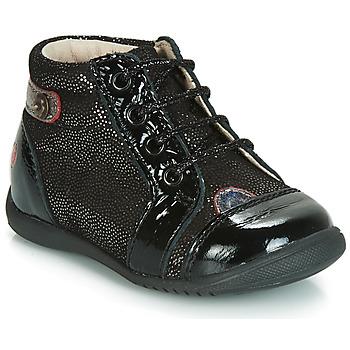 Sapatos Rapariga Sapatilhas de cano-alto GBB NICOLE Preto