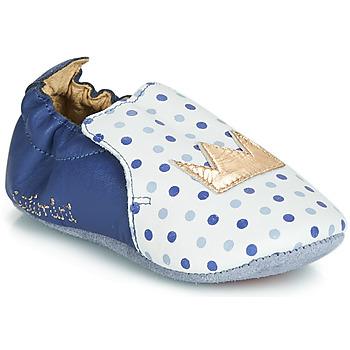 Sapatos Rapariga Chinelos Catimini CHIQUETTE Azul / Branco