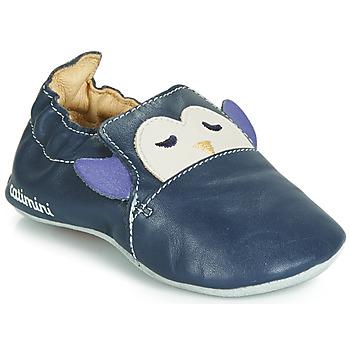 Sapatos Rapaz Chinelos Catimini PINGOU Marinho / Cru