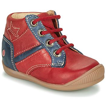 Sapatos Rapaz Sapatilhas de cano-alto GBB RATON Vermelho