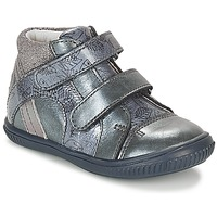 Sapatos Rapariga Sapatilhas de cano-alto GBB ROXANE Azul / Cinza