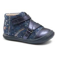 Sapatos Rapariga Sapatilhas de cano-alto GBB NICOLETA Marinho - pintas