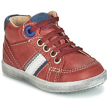 Sapatos Rapaz Sapatilhas de cano-alto GBB ANGELITO Tijolo