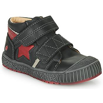 Sapatos Rapaz Sapatilhas de cano-alto GBB RADIS Preto-tijolo