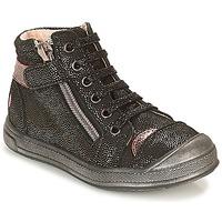 Sapatos Rapariga Sapatilhas de cano-alto GBB DESTINY Preto / Brilhante