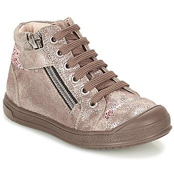 Sapatos Rapariga Sapatilhas de cano-alto GBB DESTINY Toupeira / Bronze