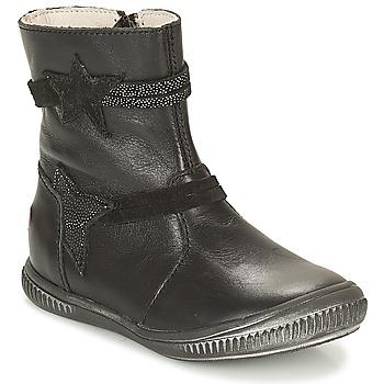 Sapatos Rapariga Botas baixas GBB NOTTE Preto