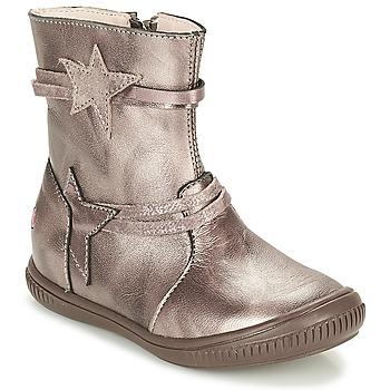 Sapatos Rapariga Botas baixas GBB NOTTE Toupeira / Bronze