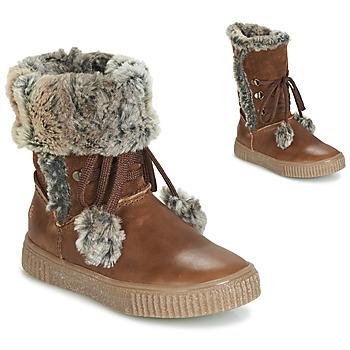 Sapatos Rapariga Botas GBB NOUSTIK Castanho