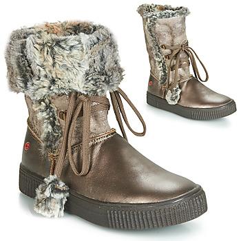 Sapatos Rapariga Botas GBB NOUSTIK Bronze