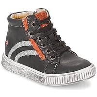 Sapatos Rapaz Sapatilhas de cano-alto GBB NESTOR Preto