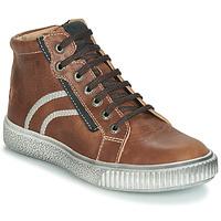 Sapatos Rapaz Sapatilhas de cano-alto GBB NESTOR Castanho