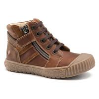 Sapatos Rapaz Sapatilhas de cano-alto GBB RAMBOUTAN Castanho