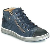 Sapatos Rapaz Sapatilhas de cano-alto GBB NICO Marinho