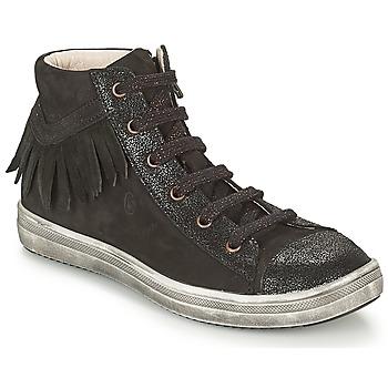 Sapatos Rapariga Sapatilhas de cano-alto GBB FRANCESCA Preto