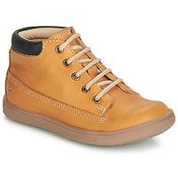 Sapatos Rapaz Sapatilhas de cano-alto GBB NORMAN VTE OCRE DPF/MESSI