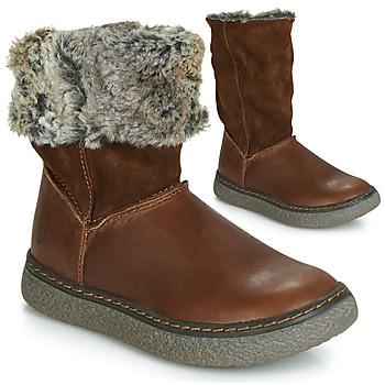 Sapatos Rapariga Botas GBB DUBROVNIK Castanho