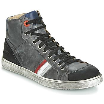 Sapatos Rapaz Sapatilhas GBB ANGELO Nub / Cinza
