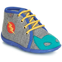 Sapatos Rapaz Chinelos GBB SUPER BOYS Cinza / Azul