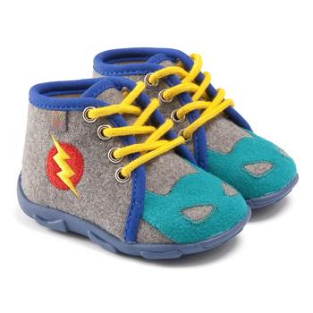 Sapatos Rapaz Chinelos GBB SUPER BOYS Cinza-azul