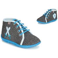 Sapatos Rapaz Chinelos GBB DAGONET Cinza / Azul