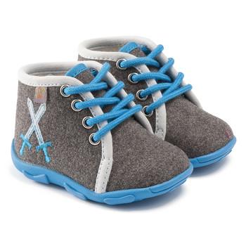 Sapatos Rapaz Chinelos GBB DAGONET Cinzento - azul