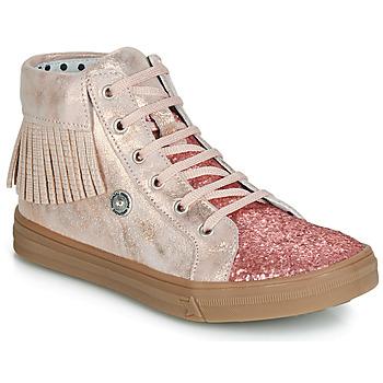 Sapatos Rapariga Sapatilhas de cano-alto Catimini LOULOU Rosa