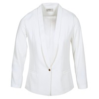 Textil Mulher Casacos/Blazers Betty London IKAROLE Branco