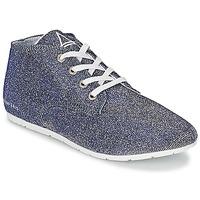 Sapatos Mulher Sapatilhas Eleven Paris BASGLITTER Prateado