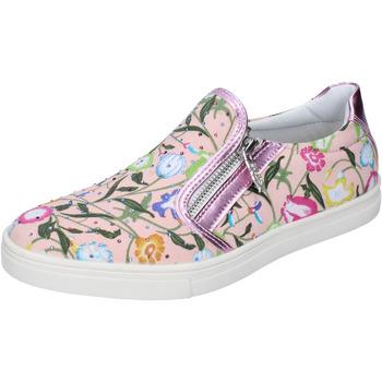 Sapatos Rapariga Slip on Didiblu Sneakers AG479 Cor de rosa