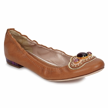 Sapatos Mulher Sabrinas Sebastian AMARILLI Camel