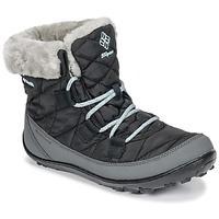 Sapatos Criança Botas de neve Columbia YOUTH MINX™ SHORTY OMNI-HEAT™ WATERPROOF Preto