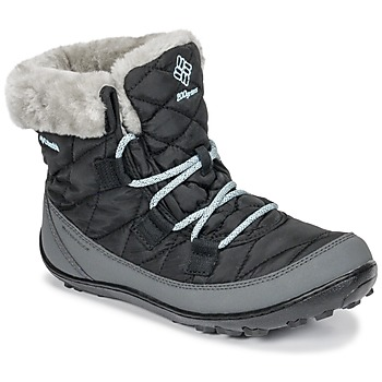 Sapatos Criança Botas de neve Columbia YOUTH MINX SHORTY OMNI-HEAT™ WATERPROOF Preto