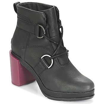 Sapatos Mulher Botins Sorel MARGO LACE Preto