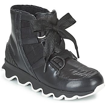 Sapatos Mulher Botas de neve Sorel KINETIC™ SHORT LACE Preto
