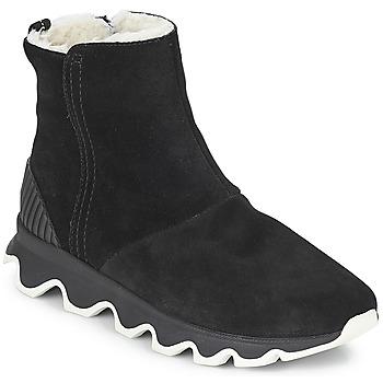 Sapatos Mulher Botas de neve Sorel KINETIC™ SHORT Preto