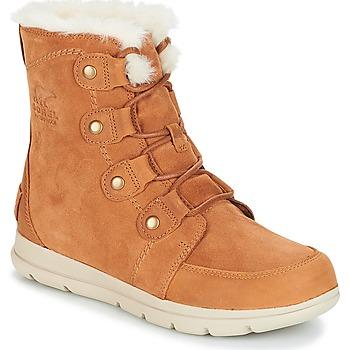Sapatos Mulher Botas de neve Sorel SOREL™ EXPLORER JOAN Camel