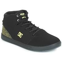 Sapatos Criança Sapatilhas de cano-alto DC Shoes CRISIS HIGH SE B SHOE BK9 Preto / Verde