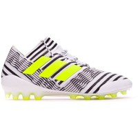 Sapatos Chuteiras adidas Performance Nemeziz 17.1 AG White-Solar yellow-Core black
