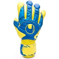 Acessórios Luvas Uhlsport Eliminator Speed Up Supergrip Lloris Hydro blue-Lite fluor yellow