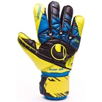 Acessórios Luvas Uhlsport Eliminator Speed Up Supersoft Lite fluor yellow-Black-Hydro blue