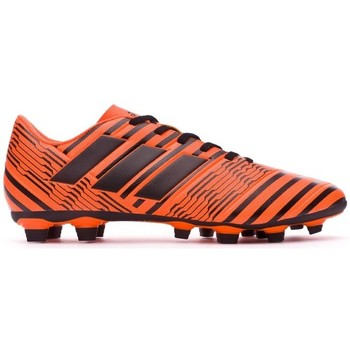 Sapatos Chuteiras adidas Performance Nemeziz 17.4 FxG Solar orange-Core black-Solar orange