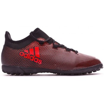 Sapatos Chuteiras adidas Performance Jr X Tango 17.3 Turf Core black-Solar red-Solar orange