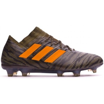Sapatos Chuteiras adidas Performance Nemeziz 17.1 FG Trace olive-Bright orange-Core black