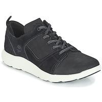 Sapatos Homem Sapatilhas de cano-alto Timberland FlyRoam Leather Oxford Preto