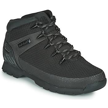 Sapatos Homem Botas baixas Timberland Euro Sprint Fabric WP Preto