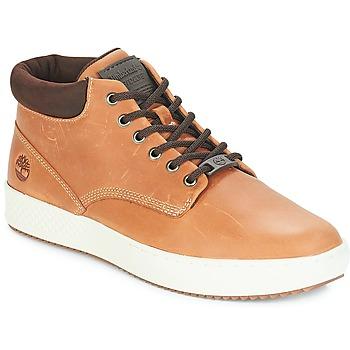 Sapatos Homem Sapatilhas de cano-alto Timberland CityRoam Cupsole Chukka Castanho