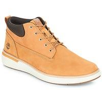 Sapatos Homem Sapatilhas de cano-alto Timberland Cross Mark PT Chukka Trigo