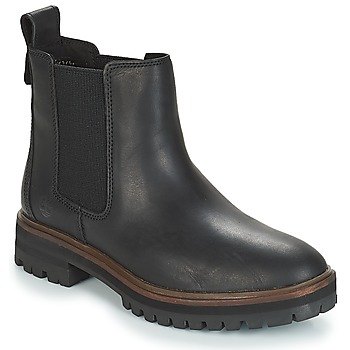 Sapatos Mulher Botas baixas Timberland London Square Chelsea Preto