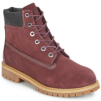 Sapatos Criança Botas baixas Timberland 7 In Premium WP Boot Bordô